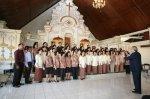 Nyanyi di Gereja Kristen Bali 2011